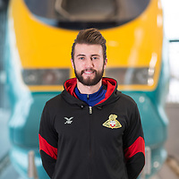 10/1/18 Doncaster - High Speed rail Link College - Liam Wakefield - Former  Doncaster Rovers player and now enrolled as an engineering apprentice at the Collge for High Speed Rail