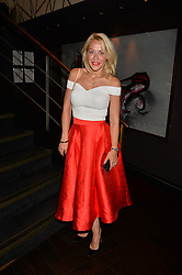 Laura Hamilton at the Quaglino's Q Legends Summer Launch Party hosted by Henry Conway at Quaglino's, 16 Bury Street, London England. 18 July 2017.