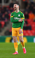 Preston North End's Sean Maguire reacts to a decision<br /> <br /> Photographer Dave Howarth/CameraSport<br /> <br /> The EFL Sky Bet Championship - Stoke City v Preston North End - Wednesday 12th February 2020 - bet365 Stadium - Stoke-on-Trent <br /> <br /> World Copyright © 2020 CameraSport. All rights reserved. 43 Linden Ave. Countesthorpe. Leicester. England. LE8 5PG - Tel: +44 (0) 116 277 4147 - admin@camerasport.com - www.camerasport.com