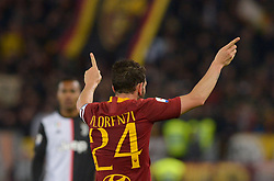 May 12, 2019 - Rome, Italy - Alessandro Florenzi during the Italian Serie A football match between A.S. Roma and Juventus at the Olympic Stadium in Rome, on may 12, 2019. (Credit Image: © Silvia Lore/NurPhoto via ZUMA Press)