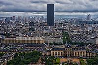 École Militaire / Army Facility, Tour Montparnasse & Paris Cityscape