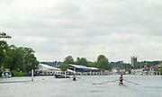©  SportsBeat Images  020 8 876 8611<br /> email images@sportsbeat.co.uk<br /> Photo Peter Spurrier<br /> 03/07/2002 - Thur<br /> Sport - Rowing- Henley Royal Regatta<br /> 2002_HRR<br /> Diamond Scull heat  David Crawshay (Mercantile Rowing Club AUS) <br />  P. Buckworth (Tees Rowing Club) 20020703 Henley Royal Regatta, Henley, Great Britain