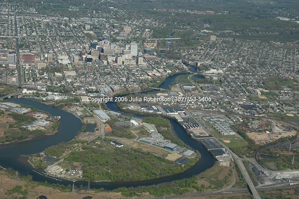 Aerial View of Wilmington, Delaware