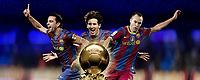 FOOTBALL - MISCS - FIFA BALLON D'OR 2010 - PREVIEW - 16/12/2010 - CREDIT : PHOTOMONTAGE ANNE LEVIEILS / IMACOM DEVELOPPEMENT / DPPI