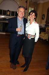 STEPHEN & FLO BAYLEY at the No Campaign's Summer Party - a celebration of the 'Non' and 'Nee' votes in the Europen referendum in France and The Netherlands held at The Peacock House, 8 Addison Road, London W14 on 5th July 2005.<br /><br />NON EXCLUSIVE - WORLD RIGHTS