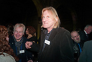 DAVE COOK; BOB PALMER, Orion Authors' Party celebrating their 20th anniversary. Natural History Museum, Cromwell Road, London, 20 February 2012.