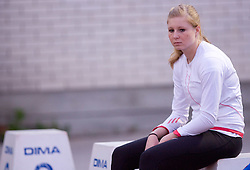 Sprinter  Maja Mihalinec at 4th Memorial of Matic Sustersic and Patrik Cvetan athletic meeting of Grand Prix Vzajemna, on June 1, 2009, in ZAK, Ljubljana, Slovenia. (Photo by Vid Ponikvar / Sportida)