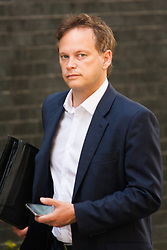 London, July 22nd 2014. Grant Shapps MP attends the cabinet meeting at Downing Street.