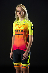 Urska Zigart of Alé BTC Ljubljana, professional women cycling team, on November 15, 2019 in Ljubljana, Slovenia. Photo by Sportida