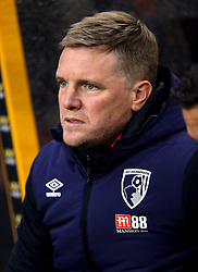 Bournemouth manager Eddie Howe during the Premier League match at Molineux, Wolverhampton.