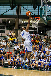27 June 2009: Zeke Upshaw. Illinois Basketball Coaches Association Boys 3a4a All Star game.