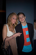 TY WOOD AND SOPHIA GREEN, Unveiling of the Vivienne Westwood Opus. Hosted by Vivienne Westwood and Karl Fowler of Kraken Opus. Serpentine Gallery. London. 12 February 2008.  *** Local Caption *** -DO NOT ARCHIVE-© Copyright Photograph by Dafydd Jones. 248 Clapham Rd. London SW9 0PZ. Tel 0207 820 0771. www.dafjones.com.