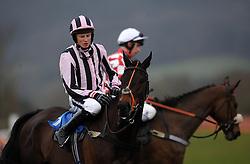 Prince Tom Ridden by C O'Farrell during the Bathwick Tyres Handicap Chase (Class 3) (5YO plus) - Photo mandatory by-line: Harry Trump/JMP - Mobile: 07966 386802 - 09/03/15 - SPORT - Equestrian - Horse Racing - Taunton Racing - Taunton Racecourse, Somerset, England.