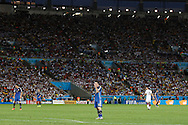 Argentina's Lionel Messi during the 2014 FIFA World Cup Final match at Maracana Stadium, Rio de Janeiro<br /> Picture by Andrew Tobin/Focus Images Ltd +44 7710 761829<br /> 13/07/2014