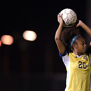 November 2, 2016; UC Irvine forward Jonnae Joseph at Fullerton College vs UC Irvine Womens Soccer Semi Final at Big West Conference at LBSU ; Long Beach, CA;  <br /> © photo by Catharyn Hayne/Sport Shooter Academy