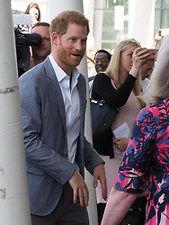 The Duke of Sussex is seen departing the Oxford Children's Hospital at the John Radcliffe in Oxford. <br /><br />14 May 2019.<br /><br />Please byline: Vantagenews.com