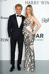 Nico Rosberg and his pregnant wife Vivian Sebold arriving at 24th amfAR Gala during 70th Cannes film festival on May 25, 2017 in Cannes, France. Photo by Nasser Berzane/ABACAPRESS.COM