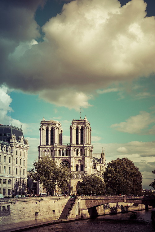 Notre Dame and the Seine, Paris