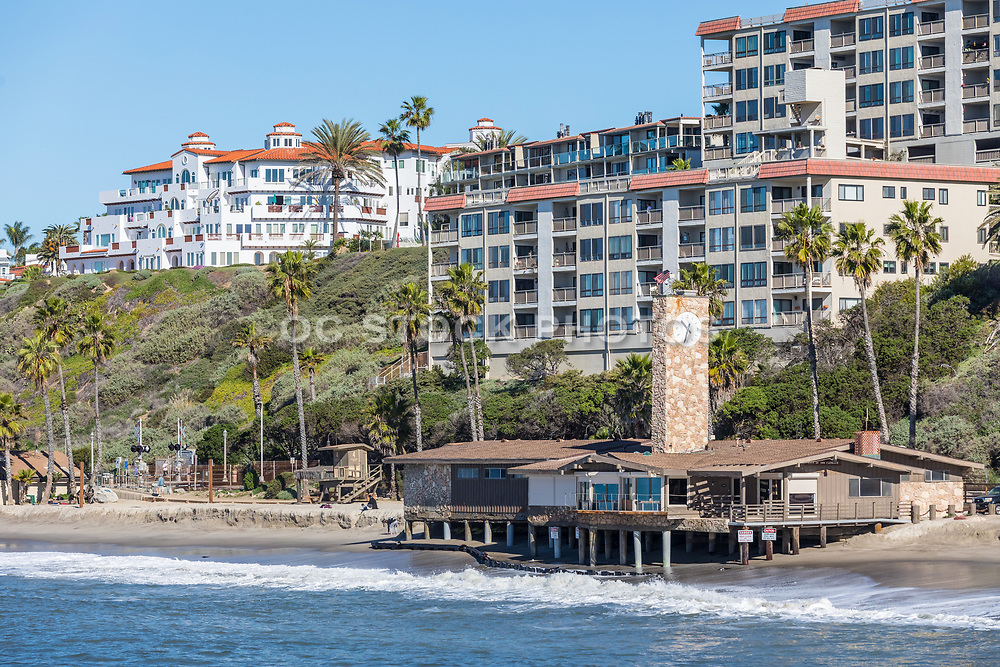San Clemente Lifeguard Headquarters Taken from the Pier