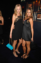 Left to right, LISA HENREKSON and NATHALIE BOMGREN at a party to celebrate the publication of the 2007 Tatler Little Black Book held at Tramp, 40 Jermyn Street, London on 7th November 2007.<br /><br />NON EXCLUSIVE - WORLD RIGHTS