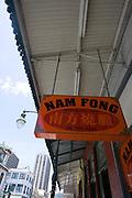 Nam Fong, meat butcher, Chinatown, Honolulu, Oahu, Hawaii