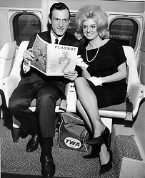 September 27, 2017 - FILE - HUGH MARSTON HEFNER (born: April 9, 1926 died: September 27, 2017) was an American men's lifestyle magazine publisher, businessman, and playboy. A multi-millionaire, his net worth at the time of his death was over $43 million due to his success as the founder of Playboy. Hefner was also a political activist and philanthropist active in several causes and public issues. Pictured: September 27, 2017 - FILE - HUGH MARSTON HEFNER (born: April 9, 1926 died: September 27, 2017) was an American men's lifestyle magazine publisher, businessman, and playboy. A multi-millionaire, his net worth at the time of his death was over $43 million due to his success as the founder of Playboy. Hefner was also a political activist and philanthropist active in several causes and public issues. Pictured: October 13, 2015 - File - The decision, taken by Playboy founder and current editor-in-chief Hugh Hefner, 89, came during a meeting last month. The mag, which first published in 1953, will still feature pictures of women in 'provocative poses' but will abandon the publication of totally nude, pornographic images. Since the advent of the Internet, such photographs are no longer commercially viable. Pictured: HUGH HEFNER (born April 9, 1926 in Chicago, Illinois), also referred to colloquially as Hef, is the founder and editor-in-chief of Playboy magazine. He has become an icon of American sexuality and a spokesman for the sexual revolution and libertarianism. in 1953 by lending his furniture for 00 and raising ,000 from 45 investors  including ,000 from his mother ('Not because she believed in the venture, but because she believed in her son')to launch Playboy. (Credit Image: © Keystone Press Agency/Keystone USA via ZUMAPRESS.com)