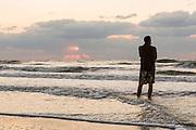 Watching sunrise on Hilton Head Island, SC