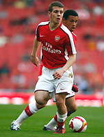 Jack Wilshere of Arsenal  FA Cup Youth Semi-Final 2nd Leg <br /> Arsenal Youth v Manchester City Youth at  Emirates Stadium London<br /> 22/04/2009. Credit Colorsport /  Kieran Galvin