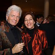 Premiere Songfestival in Concert, Ben cramer en vrouw Carla van der Waal