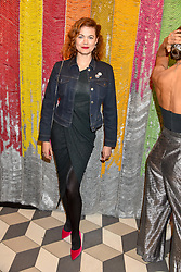 Jasmine Guinness at a cocktail supper hosted by BOTTLETOP co-founders Cameron Saul & Oliver Wayman, along with Arizona Muse, Richard Curtis & Livia Firth to launch the #TOGETHERBAND campaign at The Quadrant Arcade on April 24, 2019 in London, England.<br /> <br /> ***For fees please contact us prior to publication***