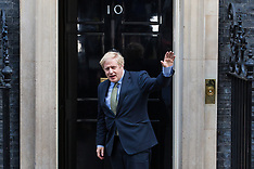 2019-12-13 Boris Johnson visits the Queen to seek to form a Government