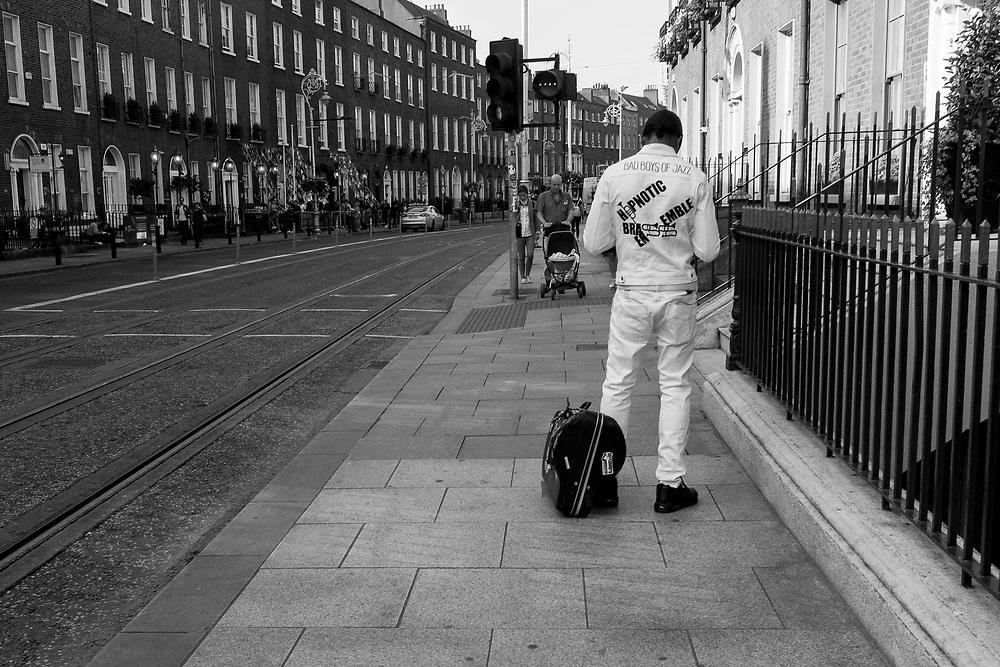 Jazz musician in Dublin, Ireland.