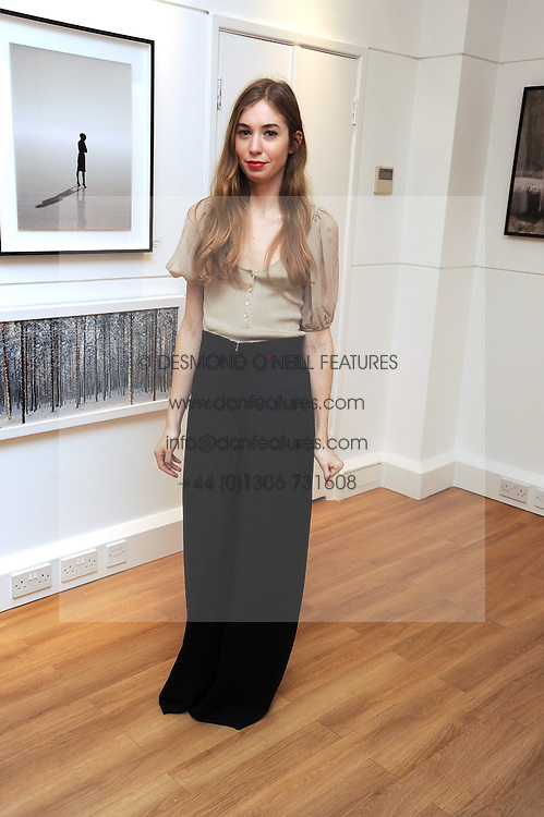 ANOUSKA BECKWITH at a private view of 'Most Wanted' an exhibition of photographs held at The Little Black Gallery, Park Walk, London on 27th November 2008.
