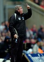 Photo: Richard Lane.<br />Birmingham City v West Bromwich Albion. The Barclays Premiership. 11/03/2006. <br />Birmingham manager, Steve Bruce.