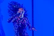 Lorde, a New Zealand singer, plays the Pyramid Stage - The 2017 Glastonbury Festival, Worthy Farm. Glastonbury, 23 June 2017