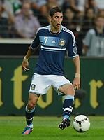 Fotball<br /> Tyskland v Argentina<br /> 15.08.2012<br /> Foto: Witters/Digitalsport<br /> NORWAY ONLY<br /> <br /> Angel Di Maria (Argentinien)<br /> Fussball Testspiel, Deutschland - Argentinien 1:3