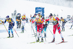 Haavard Solaas Taugboel (NOR) and Gjoeran Tefre (NOR) during Man team sprint race at FIS Cross Country World Cup Planica 2019, on December 22, 2019 at Planica, Slovenia. Photo By Peter Podobnik / Sportida