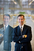 F. William McNabb III was named President of Vanguard Group Inc., the second- biggest U.S. mutual-fund company, and said he will take over as chief executive officer from Jack Brennan within a year.He is photographed here on Vanguard's corporate campus in Malvern, Pa Tuesday 26 Fe. 2008. (Photography by Jim Graham)