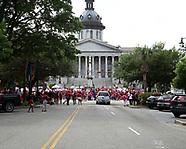 South Carolina teachers  protests and strike