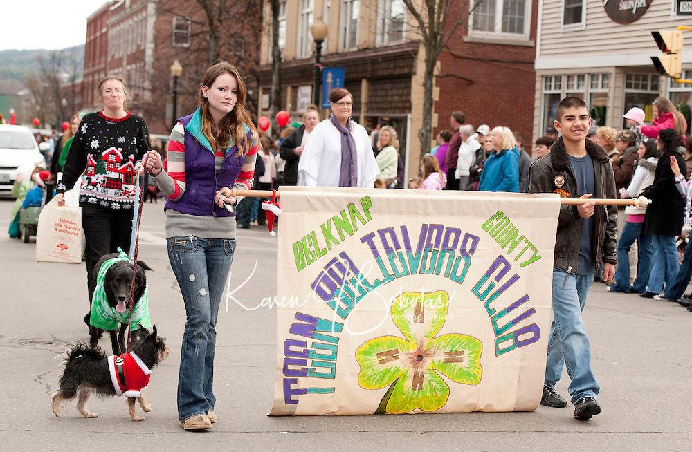 Laconia's Annual Holiday Parade November 26, 2011.