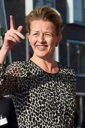 Prinses Beatrix en Prinses Mabel bij de uitreiking van De Prins Friso Ingenieursprijs 2016 in hogeschool InHolland in Delft, de stad waar prins Friso lucht-en ruimtevaarttechniek <br /> <br /> Princess Beatrix and Princess Mabel at the presentation of Prince Friso Engineers Price 2016 college InHolland in Delft, the city where Prince Friso aerospace engineering<br /> <br /> Op de foto / On the photo:  Prinses Mabel
