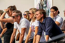 Jensen Per, Helgstrand Marianne, Helgstrand Adreas, DEN<br /> World Championship Young Dressage Horses - Ermelo 2019<br /> © Hippo Foto - Dirk Caremans<br /> Jensen Per, Helgstrand Marianne, Helgstrand Adreas, DEN