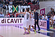 DESCRIZIONE : Trento Lega A 2015-16 Dolomiti Energia Trentino - Consultinvest Pesaro<br /> GIOCATORE : Toto Forray<br /> CATEGORIA : Fair Play<br /> SQUADRA : Dolomiti Energia Trentino - Consultinvest Pesaro<br /> EVENTO : Campionato Lega A 2015-2016 <br /> GARA : Dolomiti Energia Trentino - Consultinvest Pesaro<br /> DATA : 08/11/2015 <br /> SPORT : Pallacanestro <br /> AUTORE : Agenzia Ciamillo-Castoria/Giulio Ciamillo<br /> Galleria : Lega Basket A 2015-2016 <br /> Fotonotizia : Trento Lega A 2015-16 Dolomiti Energia Trentino - Consultinvest Pesaro