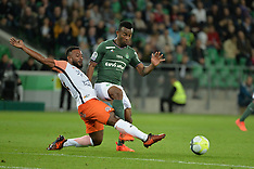 Saint Etienne vs Montpellier - 20 October 2017