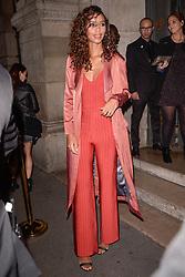 Flora Coquerel attending L'Oreal Paris X Balmain party at Ecole de Medecine during Paris Fashion Week Spring Summer 2018 held in Paris, France on September 28, 2017. Photo by Julien Reynaud/APS-Medias/ABACAPRESS.COM