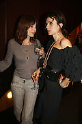 Jemima French and Lara Bohinc, Alex Shulman of Vogue and Mulberry host a party for Giles Deacon. ( Mulberry for Giles) Mulberry. New Bond St. 20 September 2006. ONE TIME USE ONLY - DO NOT ARCHIVE  © Copyright Photograph by Dafydd Jones 66 Stockwell Park Rd. London SW9 0DA Tel 020 7733 0108 www.dafjones.com