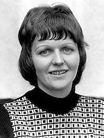 Ruth Patterson, Larne, N Ireland, UK, who is studying for the Presbyterian Ministry, October, 1975. The following year she became the first woman to be ordained into the Presbyterian Church in Ireland. 197510050682b<br />