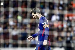 May 9, 2018 - Barcelona, Catalonia, Spain - 10 Leo Messi from Argentina of FC Barcelona during the  La Liga football match between FC Barcelona v Villarreal CF at Camp Nou Stadium in Spain on May 9 of 2018. (Credit Image: © Xavier Bonilla/NurPhoto via ZUMA Press)