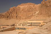 .Hatshepsut Temple at Deir al-Bahri, Egypt
