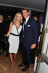DONNA AIR and BEN ELLIOT at the Quintessentially Awards at Number One Marylebone, London on 28th September 2011.